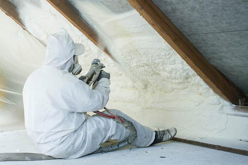 Industrial Grade Dehumidifier industry best practices spray foam insulation