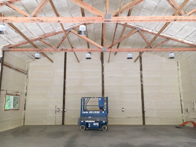 Fully Insulated Building Envelope Spray Foam Insulation Oregon 1