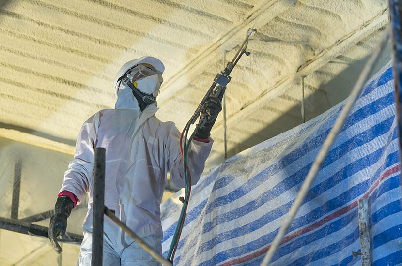 Commercial Spray Foam Insulation Services in Oregon 6