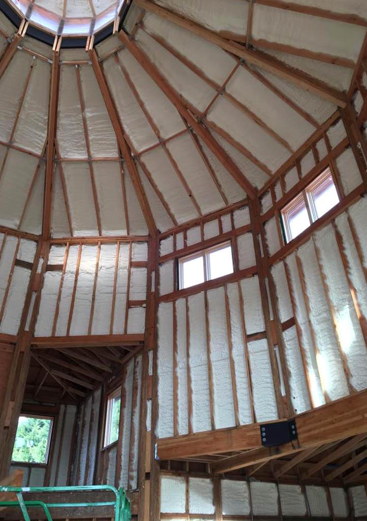 Premier Spray Foam Insulation Basement & Crawl Space Insulation attic 4