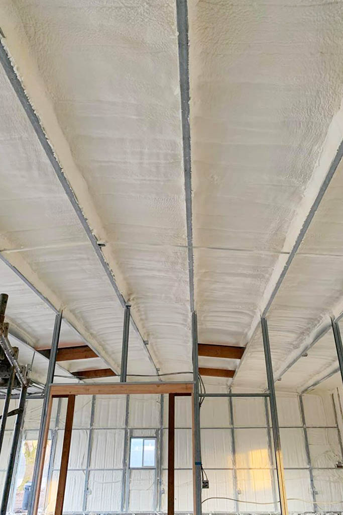 Spray Foam Insulation for Agricultural Buildings. Agricultural Insulation Services in Oregon, Portland and Eugene. Insulation for barns, farm buildings and cannabis farms.